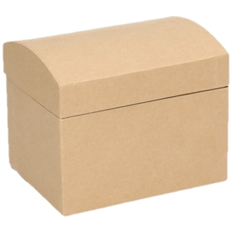 Onbewerkte kartonnen sieradendoos 11 5 cm