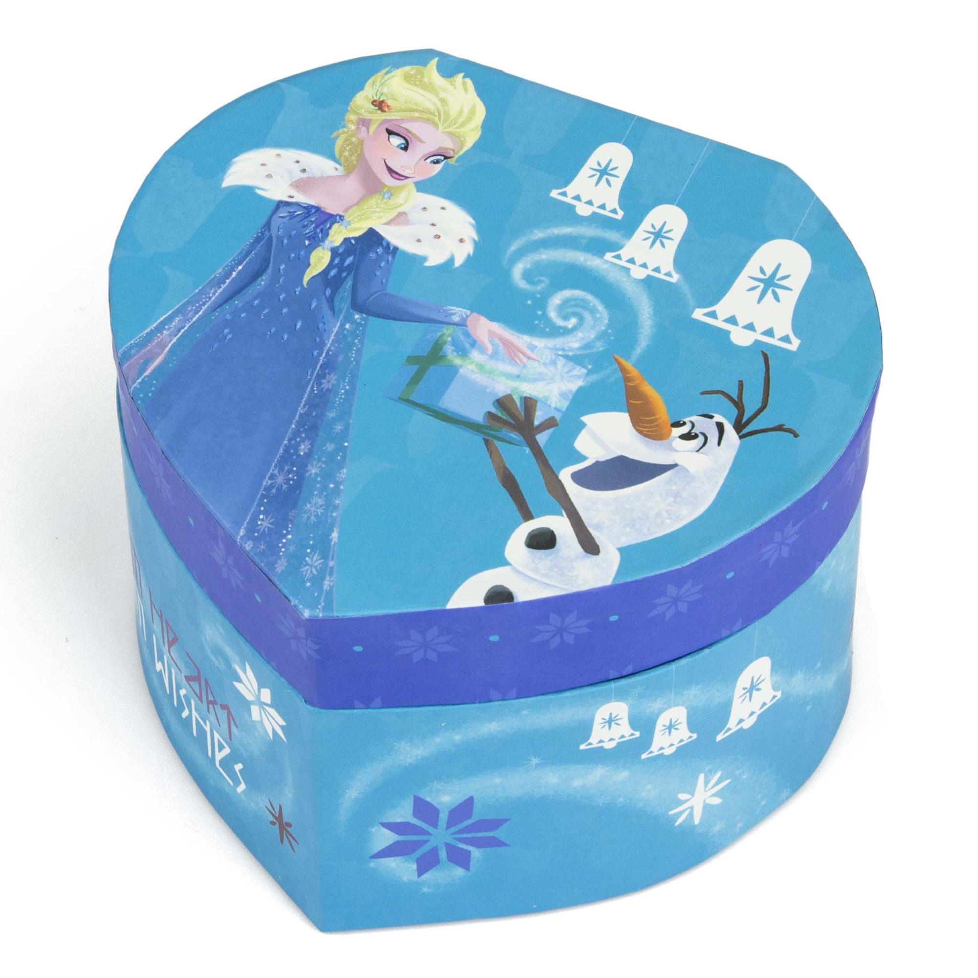 Juwelendoos sieradendoos blauw disney frozen 12 x 11 x 8 cm voor meisjes